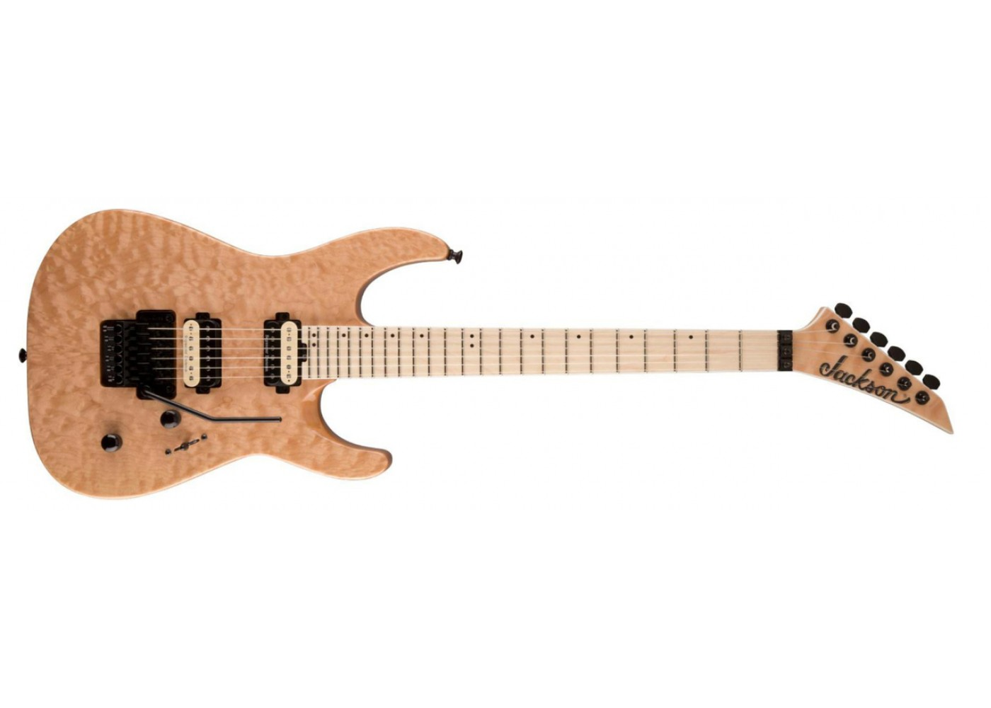 jackson dk2mq pro series dinky electric guitar with usa seymour duncan pickups quitled maple. Black Bedroom Furniture Sets. Home Design Ideas