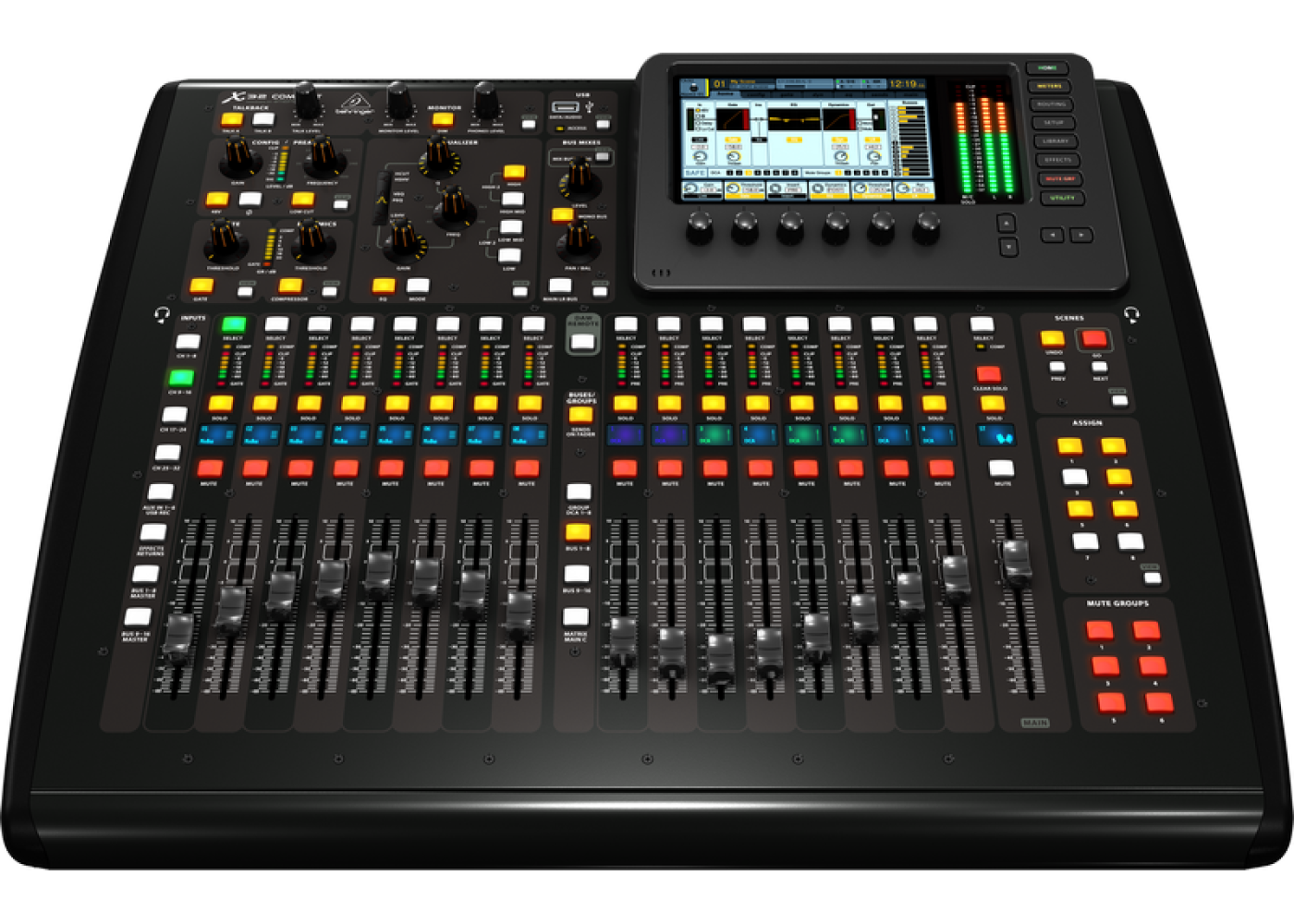 Rental Behringer X32 Compact 40 Input 25 Bus