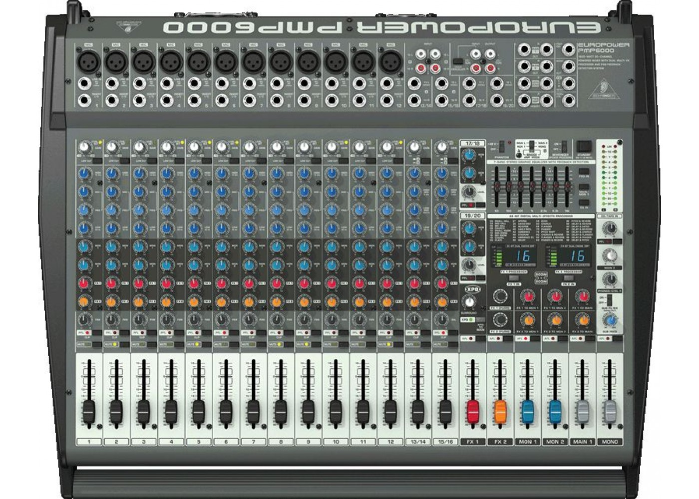 Pa Sales Tax >> Behringer PMP6000 Powered Audio Mixer