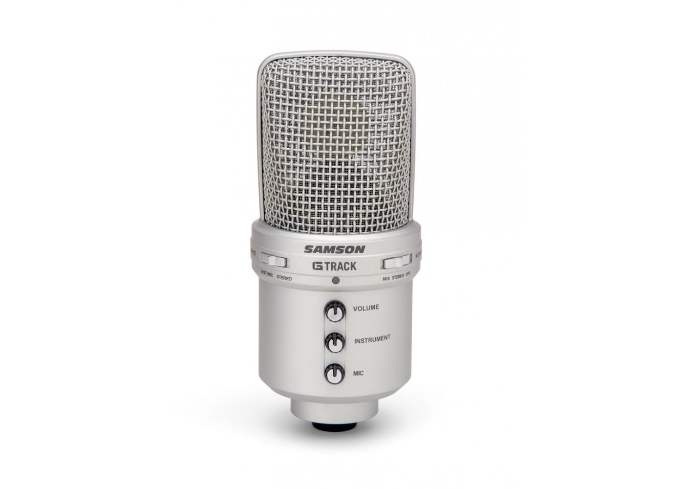 samson g track usb microphone with stereo in and headphone monitor out. Black Bedroom Furniture Sets. Home Design Ideas