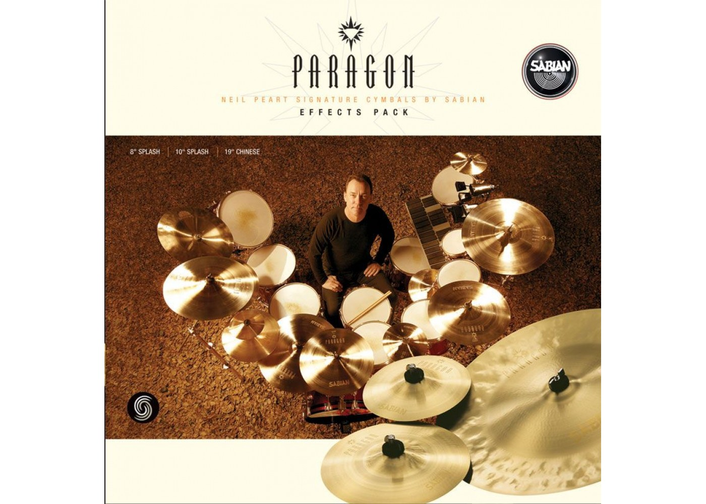 sabian paragon neil peart effects cymbal pack. Black Bedroom Furniture Sets. Home Design Ideas