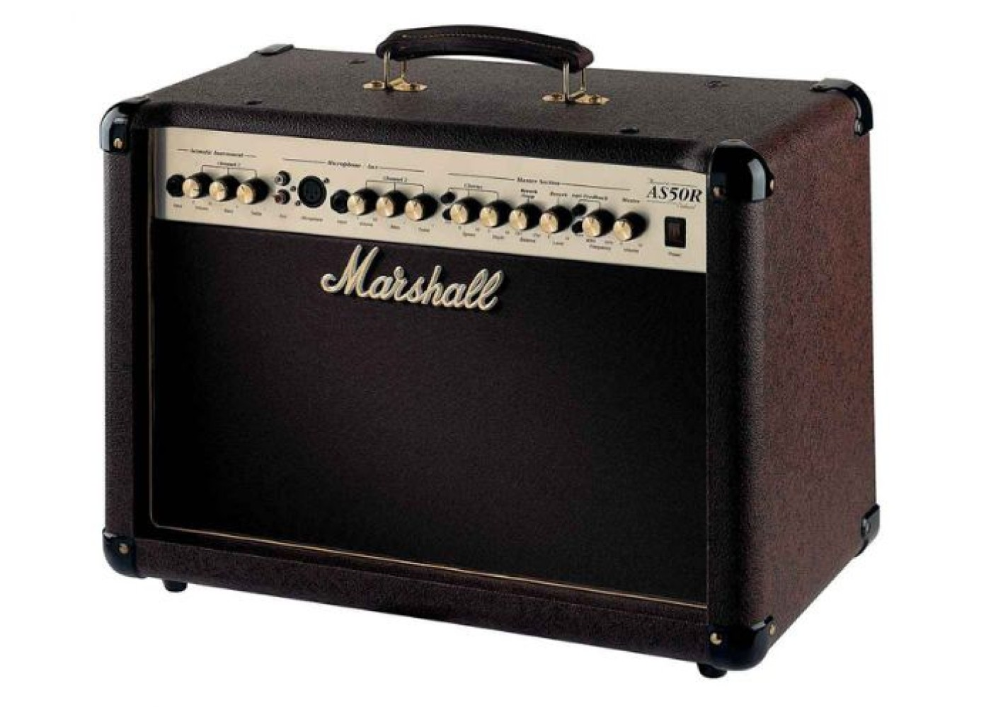 marshall as50d 2 channel acoustic guitar amplifier with effects. Black Bedroom Furniture Sets. Home Design Ideas
