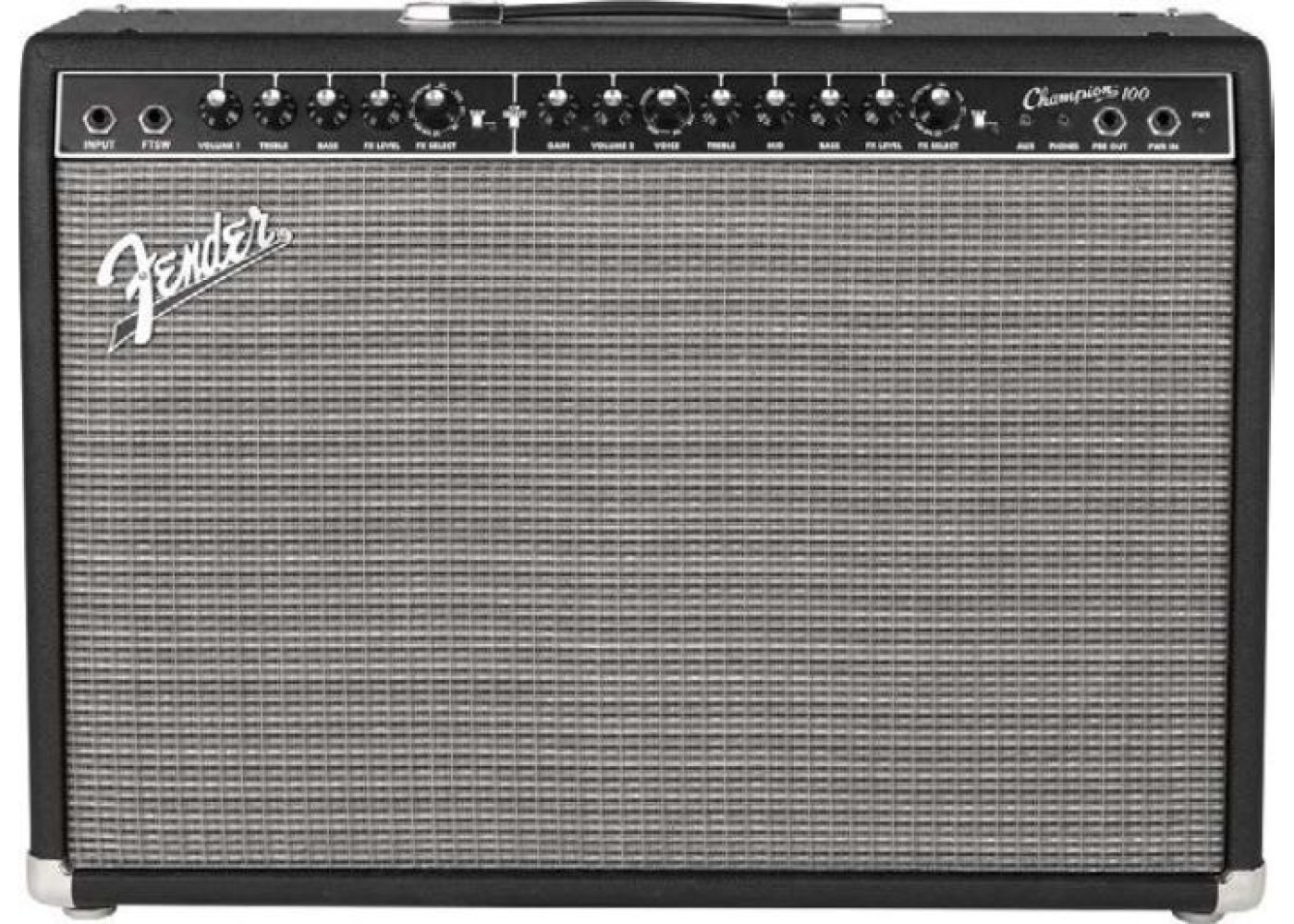 fender champion 100 100w guitar combo amp with effects. Black Bedroom Furniture Sets. Home Design Ideas