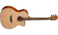 Open Box - Washburn WLG66SCE Woodline Solid Cedar ..