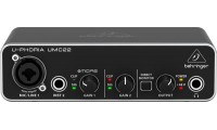 Behringer U-Phoria UMC22 2x2 Audio Interface..