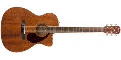 PM-3 FenderTriple-0 All Mahogany Acoustic Guitar Natural Finish