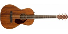 PM-2 Fender Parlor All Mahogany Acoustic Guitar Natural Finish