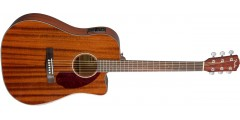 Fender CD140SSCE Acoustic Electric All Mahogany with case