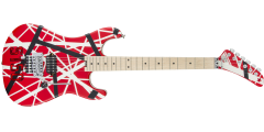 Open Box - EVH Stripe 5150 Electric Guitar with Red Black and White Stripes