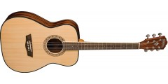 Washburn AF5K Folk Acoustic Guitar Solid Spruce Top with Case