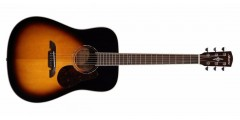 Alvarez  AD60SB  Acoustic  Guitar  Sunburst  Finish