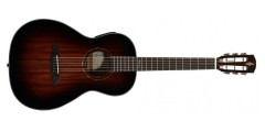 Alvarez AP66ESHB Acoustic Electric Parlor Guitar Shadow Burst