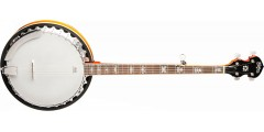 Washburn B10 5-string Banjo Mahogany back and sides Sunburst Gloss