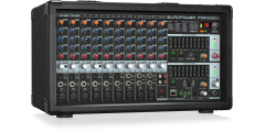 Behringer PMP2000D 2000 Watt 14 Channel Powered Mixer with FX Processor