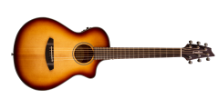 Breedlove Discovery Companion Sunburst Cutaway Acoustic Electric Guita..