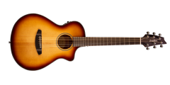 Breedlove Discovery Companion Sunburst Cutaway Acoustic Electric Guitar Sit