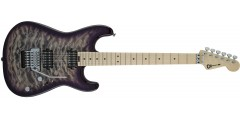 Demo-Charvel Pro-Mod San Dimas Style 1 HH FR Quilt Maple Top Purple Phaze
