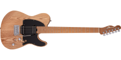 Pro-Mod So-Cal Style 2 24 HH Caramelized Maple Fingerboard Natural Ash