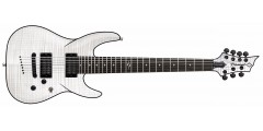 Diamond BARSTF7-TWH Barchetta 7 String Electri Guitar Trans White