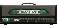 Diamond Amplification F4 100 Watt All Tube Guitar Amplifier Head..