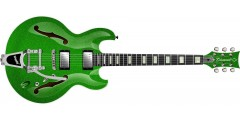 Diamond IMSHBG-LG Imperial Electric Guitar Bigsby Lime Green Sparkle