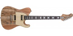 Diamond MAVSM-SNA Maverick Electric Guitar Spalted Maple