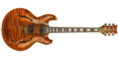 Diamond IMSH-TGE Imperial Semi-Hollow Electric Guitar Tiger Eye
