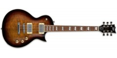 ESP Ltd EC256FM Electric Guitar Dark Brown Sunburst