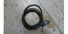 Used - 6 foot 2 conductor speaker cable with 1 speakon connector