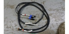 Used - 6 foot 4 conductor speaker cable with 2 speakon connector