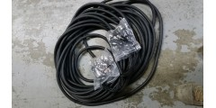 Used  -  100  foot  16  channel  1/4  to  XLRF  snake