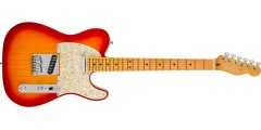 Fender American Ultra Telecaster Maple Fingerboard Plasma Red Burst