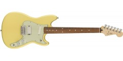Open Box Fender Duo-Sonic HS Pau Ferro Fingerboard Canary Diamond