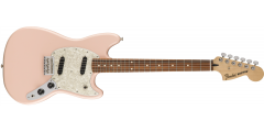 Fender Mustang Electric Guitar Pau Ferro Fingerboard Shell Pink