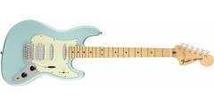 Fender Sixty Six Jazzcaster Maple Fingerboard Daphne Blue