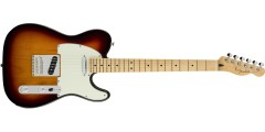Fender Players Series Telecaster Maple Neck 3-Color Sunburst