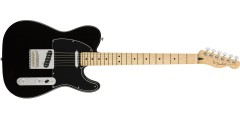Fender Players Series Telecaster Maple Neck Black
