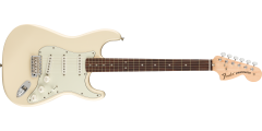 Fender Albert Hammond Jr Stratocaster Rosewood Fingerboard Olympic White