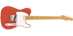 Fender Vintera 50s Telecaster Maple Fingerboard Fiesta Red