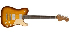 Fender Limited Edition Troublemaker Tele Deluxe Rosewood Fingerboard Ice Te