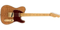 Fender Rarities Red Mahogany Top Telecaster Maple Neck Natural