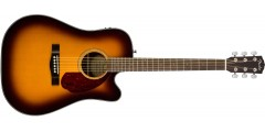 Fender CD140SCE Acoustic Electric Guitar Sunburst ..