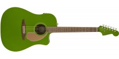 Fender Redondo Player Electric Acoustic Electric Jade Guitar with Walnut Fr