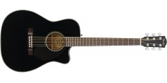Fender CC60-SCE Acoustic Electric Guitar Black