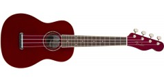 Fender Zuma Classic Concert Ukulele Walnut Fingerboard Candy Apple Red..
