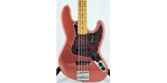 Fender Player Plus Jazz Bass Aged Candy Apple Red with Gig Bag Ser#MX211677