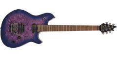 EVH Wolfgang Standard Quilt Maple Baked Maple Fretboard Northern Lights