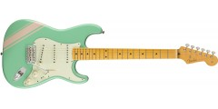 Fender FSR Traditional 50s Stratocaster Surf Green Shell Pink Stripes