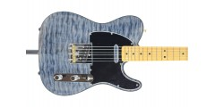 Fender Rarities Quilt Maple Top Telecaster Maple Neck Blue Cloud Serial Num