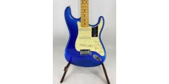 Fender  American Ultra Stratocaster Maple Fingerboard Cobra Blue Serial #US